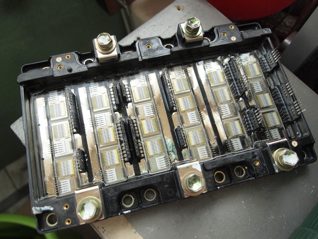 Toyota Prius invertor igbt module