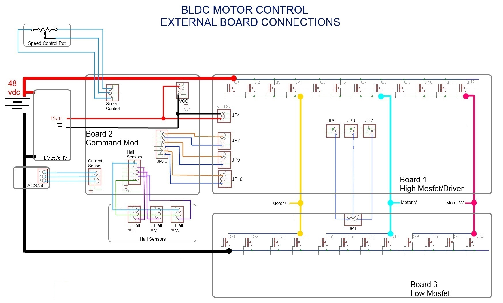 3 Phase Brushless Dc Motor Controller Mosfet Tester Circuit Diagram Schematic Mc33035