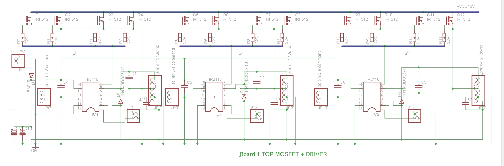brushless controller schematic « Brushless motors, 3Phase