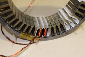 brushless motor stator