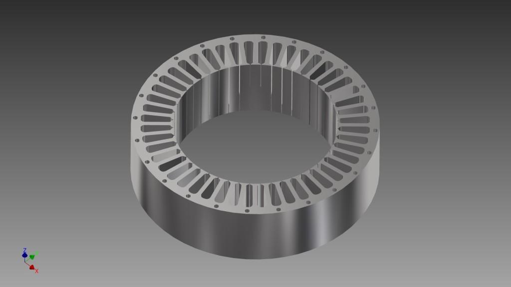 Stator motor design