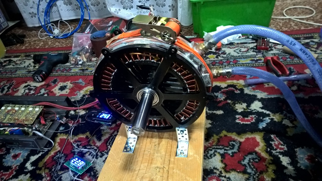 brushless motor homemade