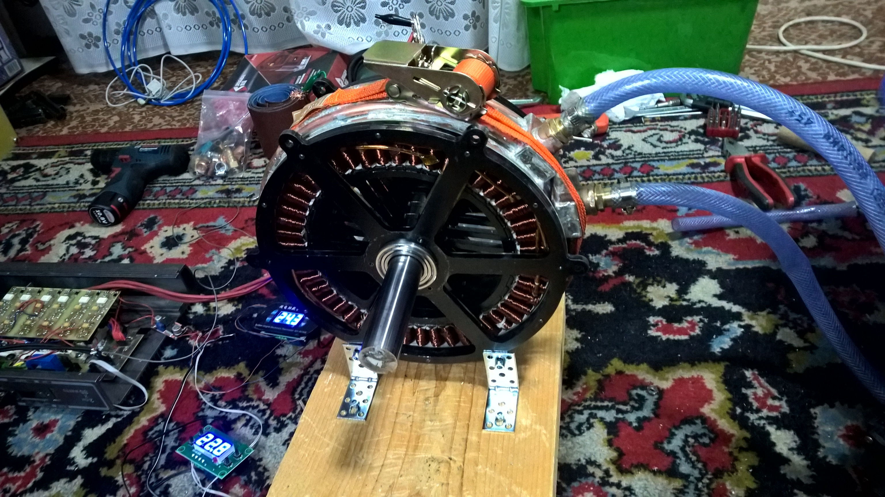 45kw Bushless Motor Design Brushless Motors 3phase Inverters Hi I Want To Make A Single Phase Ac Motor39s Rpm Controller Have Homemade