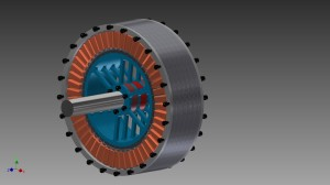 Brushless motor60Kw