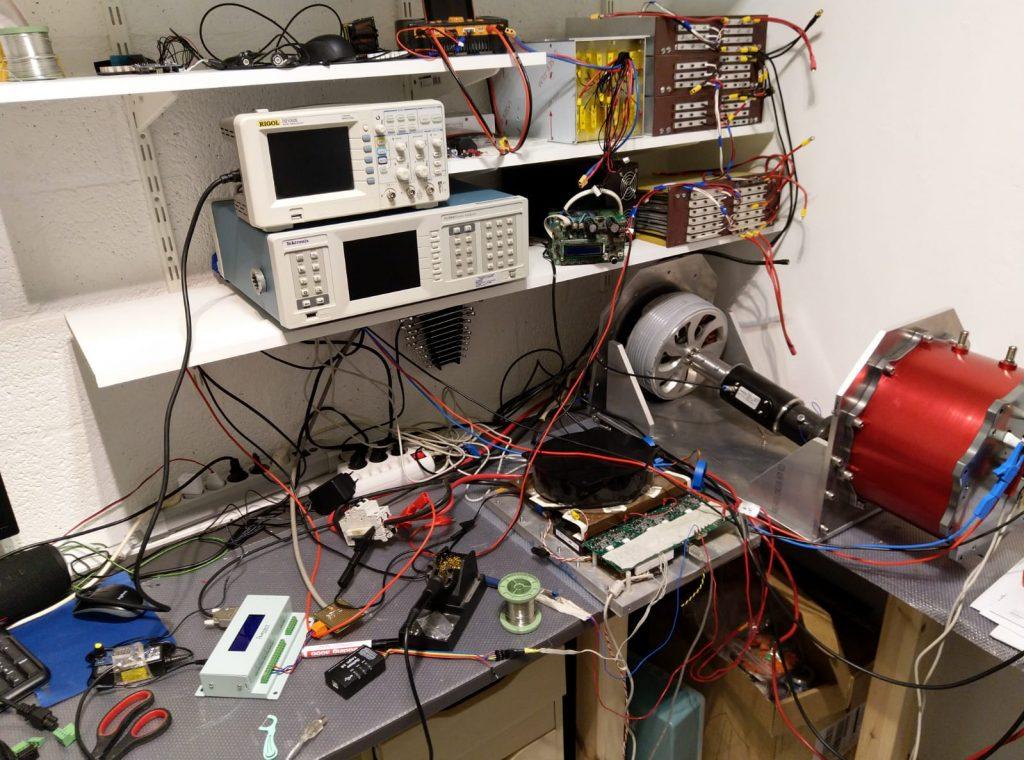 Homemade stuff « Brushless motors, 3Phase inverters, schematics